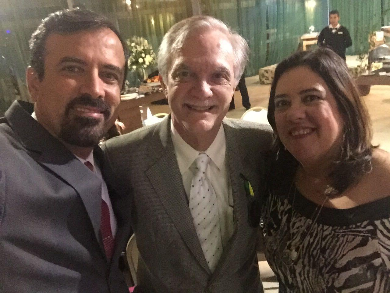 Drs. Francisco Simões, Carlos Eduardo Francischone e Maria Angélica Behrens