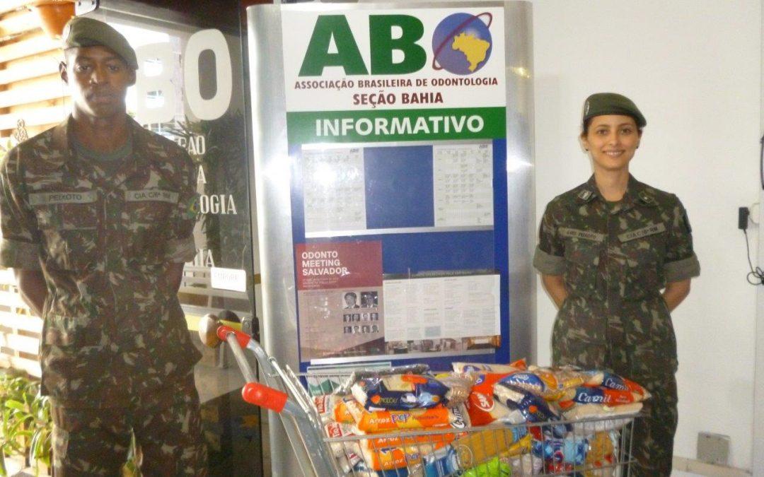 ABO-BA arrecada e doa alimentos para o Hospital Martagão Gesteira