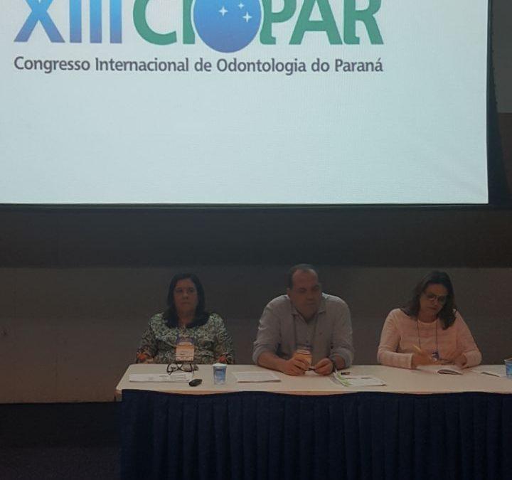 XIII CIOPAR- Congresso Internacional de Odontologia do Paraná