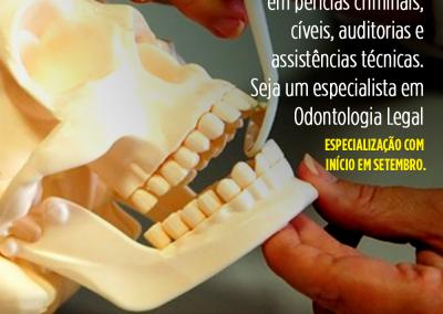 Especialização em Odontologia Legal