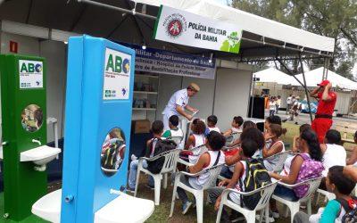 Mais uma parceria ABO Polícia Militar da Bahia.