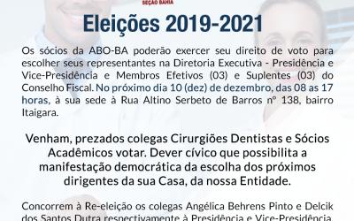 ABO-BA Eleições para o período 2018-2021